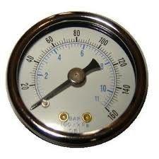 최상 공기 압축기 디지털 방식으로 압력 계기, 액체는 압력 계기를 채웠습니다